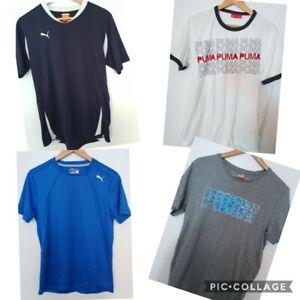 4 X Puma 2 x Tshirts/ 2 X Active Shirts Size M