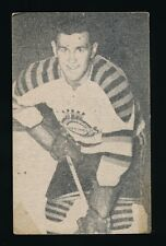 1952-53 St Lawrence Sales (QSHL) #93 ANDY McCALLUM (Chicoutimi)
