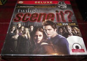 SUPERB SCREEN LIFE TWILIGHT SCENE IT? DELUXE DVD GAME WITH CLIPS STILL SEALED