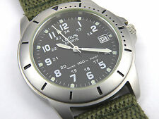VX42-0AA0 Lorus Mens Gents Date Military Divers Watch - 100m