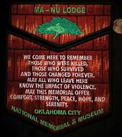 Details about  /OA NGUTTITEHEN LODGE 205 BSA LINCOLN HERITAGE 62 201 NOAC 2020 GREEN GHOST FLAP