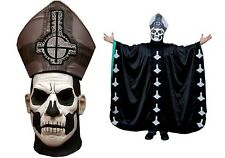 Halloween GHOST PAPA II EMERITUS Deluxe Edition Latex Mask + ROBE PRE-ORDER NEW