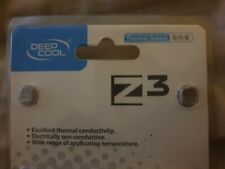 Deepcool Z3 High Performance Silver Thermal Compound Paste CPU GPU Cooling