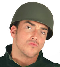 US Army M1 Helmet WW2 1941-1985 Plastic Fancy Dress Costume Hat NEW Up To 61CM