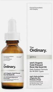 The Ordinary 100% Organic Cold-Pressed Rose Hip Seed Oil   BNIB   1 fl oz