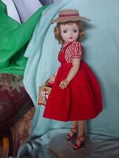MADAME ALEXANDER VINTAGE, HARD PLASTIC CISSY DOLL IN ORIGINAL BOX!