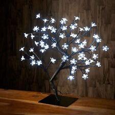 45cm 72 LED White Bonsai Tree Twig Fairy Light Lamp Lantern Christmas Xmas Decor