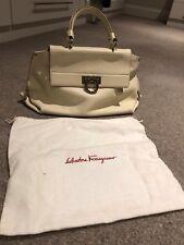 "Salvatore Ferragamo Ladies Handbag Cream ""Sofia"" 9a3b2dd160698"