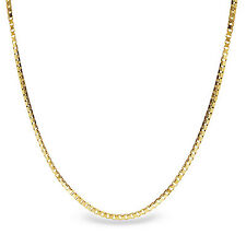 Box Chain 14k Gold Necklace - 16 in. - SKU #63549