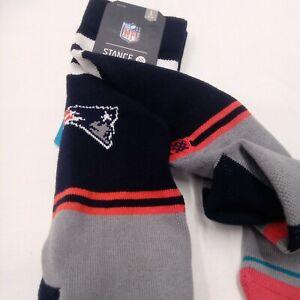 Stance New England Patriots Men's Socks - LARGE 9-12 -
