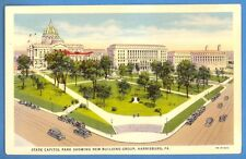 Pennsylvania - Harrisburg, State Capitol Park Showing New Bldg. Group Pc 129
