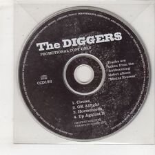 (GW622) The Diggers, Circles - 1996 DJ CD