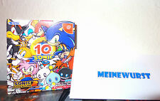 Sega Dreamcast  Sonic Adventure 2 10th Anniversary Edition  Boxed Complete Japan