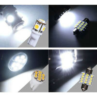 White LED Interior Package Kit For T10&31mm Map Dome License Plate Lights x14