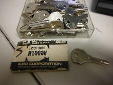 LOT OF 12 - ILCO CORBIN KEY BLANKS R1000V ~ NEW