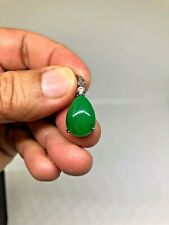 Beautiful Green Teardrop Charm