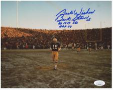 "Bart Starr Signed Green Bay Packers 8x10 Photo ""2X MVP SB"", & ""HOF '77"" JSA Holo"