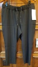 New Lululemon Cropped Black Pants $98  12 xLarge Nwt crop woven