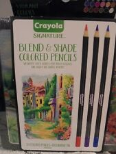 Crayola Blend and Shade Colored Pencils NEW