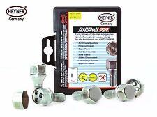 New Mini Mk1 2002-2006 wheel locking nuts M12x1,5 anti-theft bolts for alloys