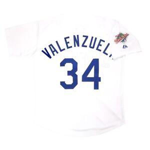 Fernando Valenzuela Los Angeles Dodgers 1988 World Series Home Men's Jersey XL