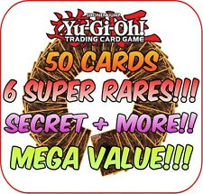 YuGiOh Carte Pack Mix Platine Collection grande valeur ~Super & Secret SANS