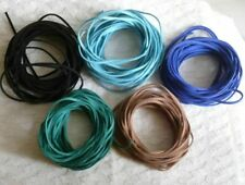 1/5 yard Faux Suede Leather Cord Bracelet Lace 3mm String Rope Necklace Ribbon