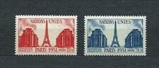 FRANCE - 1951 YT 911 à 912 - TIMBRES NEUFS** MNH LUXE