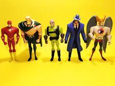 Vintage Style D.C. Comics Hawkman, Mystery, Flash, Aqua Man Action Figure B4#925
