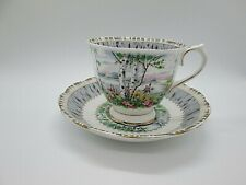 Royal Albert Silver Birch  Cup & Saucer See Listing  (F3#4)