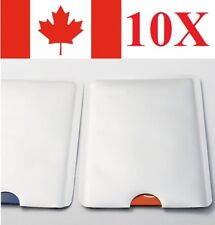 10x RFID Sleeve Debit Credit Card Protector Secure Information from Theft