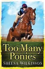 Demasiados ponis por Sheena Wilkinson (Nuevo Libro De Bolsillo, 2013)