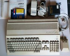 Commodore Amiga 500 Vintage Computing Boxed, not fully working