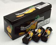 10 Rolls PINEAPPLE Charcoal 60 Tabs Coal Easy Lighting Shisha Hookah With Hole