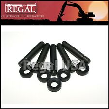 8E6358 / 8E6359 (Set of 5) Pin & Retainers for Caterpillar J350 1140358, 1140359