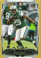 2014 TOPPS GOLD #279 BILAL POWELL 1553/2014 JETS *12808