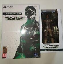 """Collector's edition SPLINTER CELL """"BLACKLIST"""" PS3 + 2 statue di SAM FISHER"""