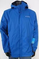 Mens Columbia S-M-L-XL-XXL Timber Pointe Waterproof Hooded Rain Jacket - Blue