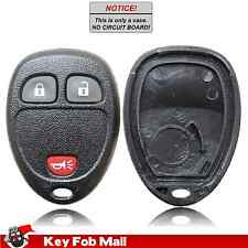New Key Fob Remote Shell Case For a 2010 GMC Sierra 1500 w/ 3 Buttons