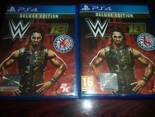 WWE 2K18 Deluxe Edition PS4 Game INCLUDE KURT ANGLE PACK