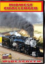 3985W Midwest Challenger - Union Pacific 3985 NEW DVD Highball Train Video CP