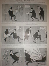 Toccare la nuova legge TOM Wilkinson Cartoon 1903