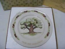 "Sales Representative Fifth Avon Anniversary Plate ""The Great Oak"" Wedgwood"