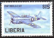 GRUMMAN F6F HELLCAT WWII Aircraft Mint Stamp