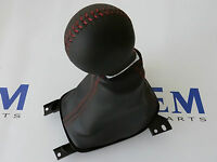 GM 2010-2012 Camaro SS Leather Shift Knob & Boot Red Stitching 24261462 OEM