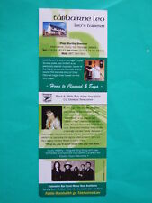 ►►rare Irish flyer Clannad Enya Moya Brennan advert 2