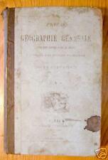 PRECIS DE GEOGRAPHIE GENERALE - 1885