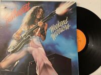 Ted Nugent – Weekend Warriors LP 1978 Epic – FE 35551 EX/NM