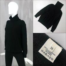 $2K Hermes Ladies Black CASHMERE Horse Bit Equestrian Sweater Jumper Size FR36 S