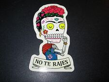 """FRIDA KAHLO Riveter MUERTO Art Sticker Print 2X4"""" DIA DE LOS JOSE PULIDO"""